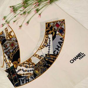 Authentic Chanel Paris Vintage Scarf